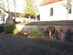 Gedenkstätte in Spesbach
